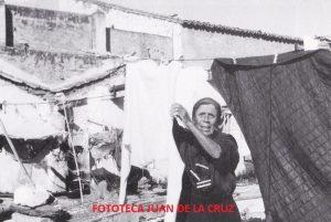 """Vicenta Polo Salgado """"La Farruca"""", en el último año del lavadero de Beltrán."""