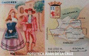 TRAJES TIPICOS DE CACERES (CEREGUMIL, AÑOS 40)