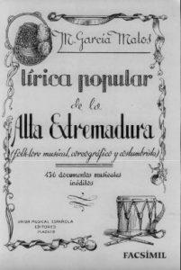 DEL FOLKLORE CACEREÑO (1944)