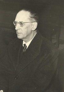 Miguel MUñoz de San Pedro, Conde de Canilleros, en 1959.