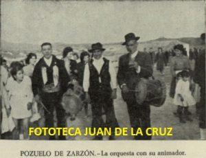 LA ORQUESTA CON SU ANIMADOR (POZUELO DE ZARZON)