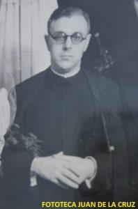 Un joven sacerdote llamado don Lorenzo Pascuel Manzano.