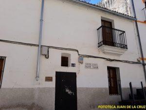 Casa Parroquial en la que vivió don Lorenzo.