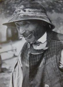 Campesino de una comarca del Norte de Cáceres en los años 20