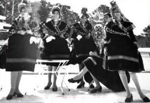 Pepi Suárez, Josefina Collado, Isabel, Concepción Ciborro... Mallorca, 1965