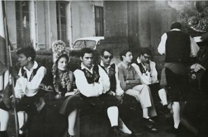A la espera... Vidal Sánchez, Ana Mary Sevilla, Leocadio Bernáldez, Fito, Pepe... Confolens, 1969
