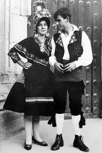 Concepción Ciborro y Francisco José Romero, 1968