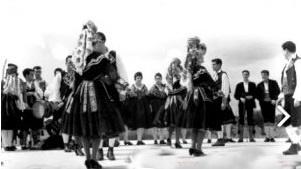"""Interpretando """"El Perantón"""". 1961."""