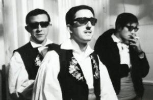 Una curiosa fotografía. Fito, Justi y José Romero, en el Teatro de la Zarzuela, 1965
