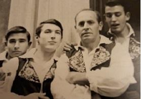 Fernando Mateos, Carlos Luengo, Luis Luengo, Mariano Marín, 1968