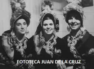 Pili Silva, Pepi Suárez y Concepción Ciborro, 1968