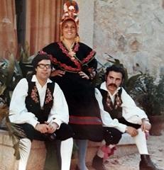 Pepe, Marichu y Leo Bernáldez, 1968
