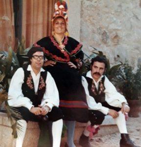 Pepe, Marichu González y Leo Bernaldez.