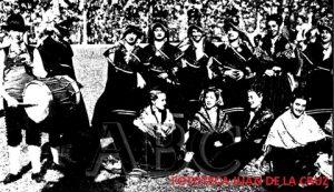 Coros y Danzas de la Sección Femenina de Cáceres en Argentina, 1948 (ABC)
