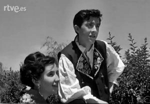 """Adolfo Romero, """"Fito"""", y Jacinta Sánchez Herrero, 1966"""