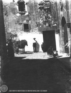 Casa del Aguila. Fotografía de 1900