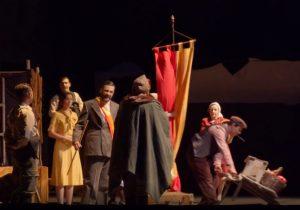 Una representación del Festival de Teatro Clásico.